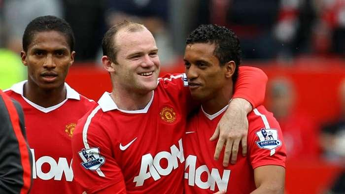 Wayne Rooney Nani Manchester United 05082011