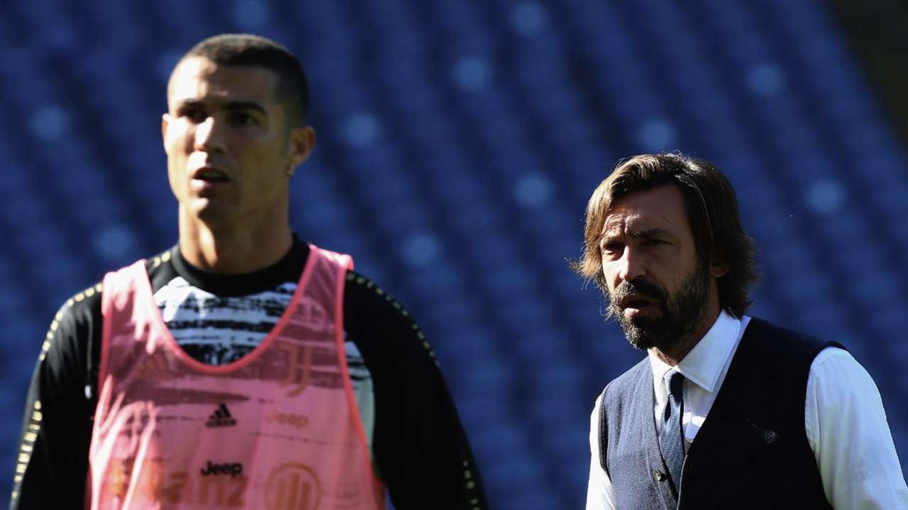 Cristiano Ronaldo Andrea Pirlo Juventus 2020-21