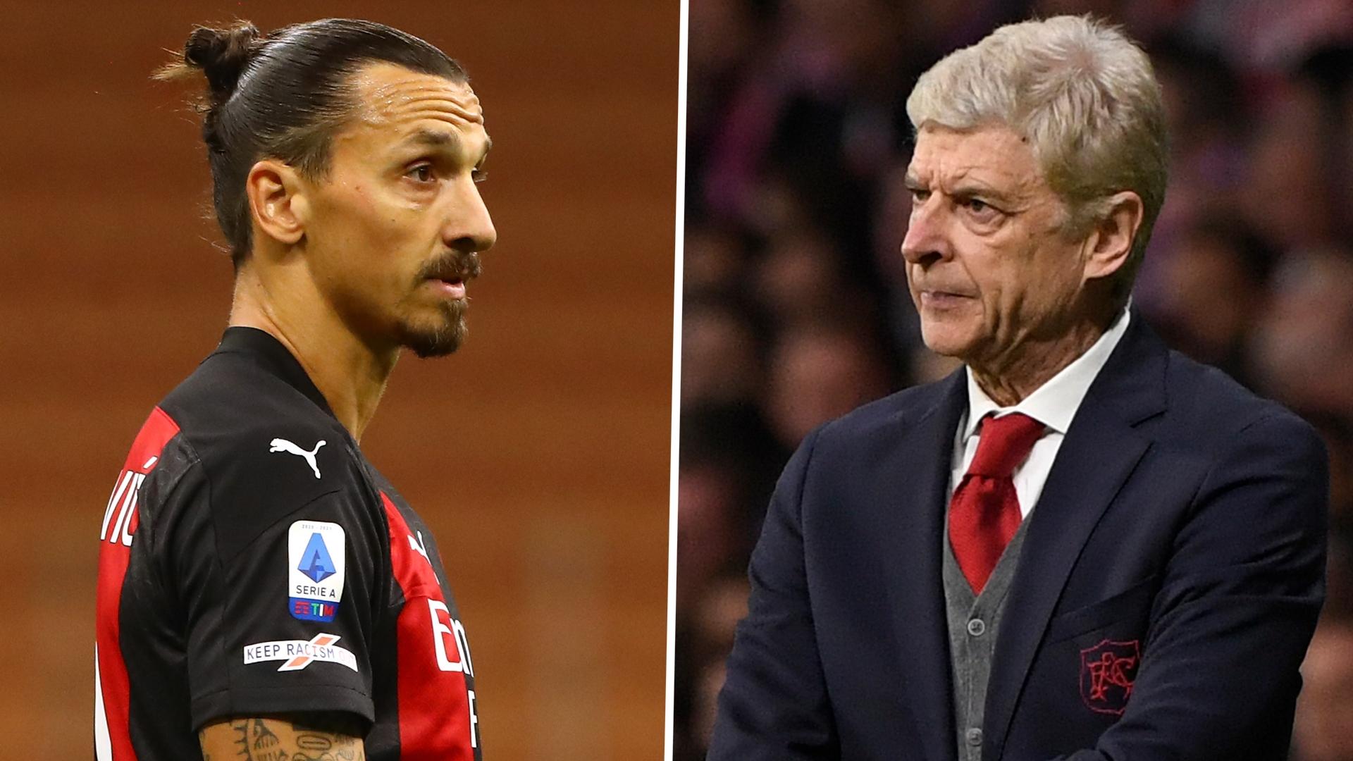 Wenger has no Ibrahimovic or Real Madrid regrets despite snubbing both when at Arsenal