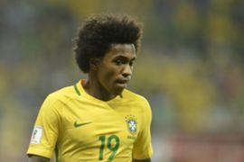Willian Brasil x Chile