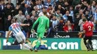 David De Gea Victor Lindelof Manchester United Huddersfield Town