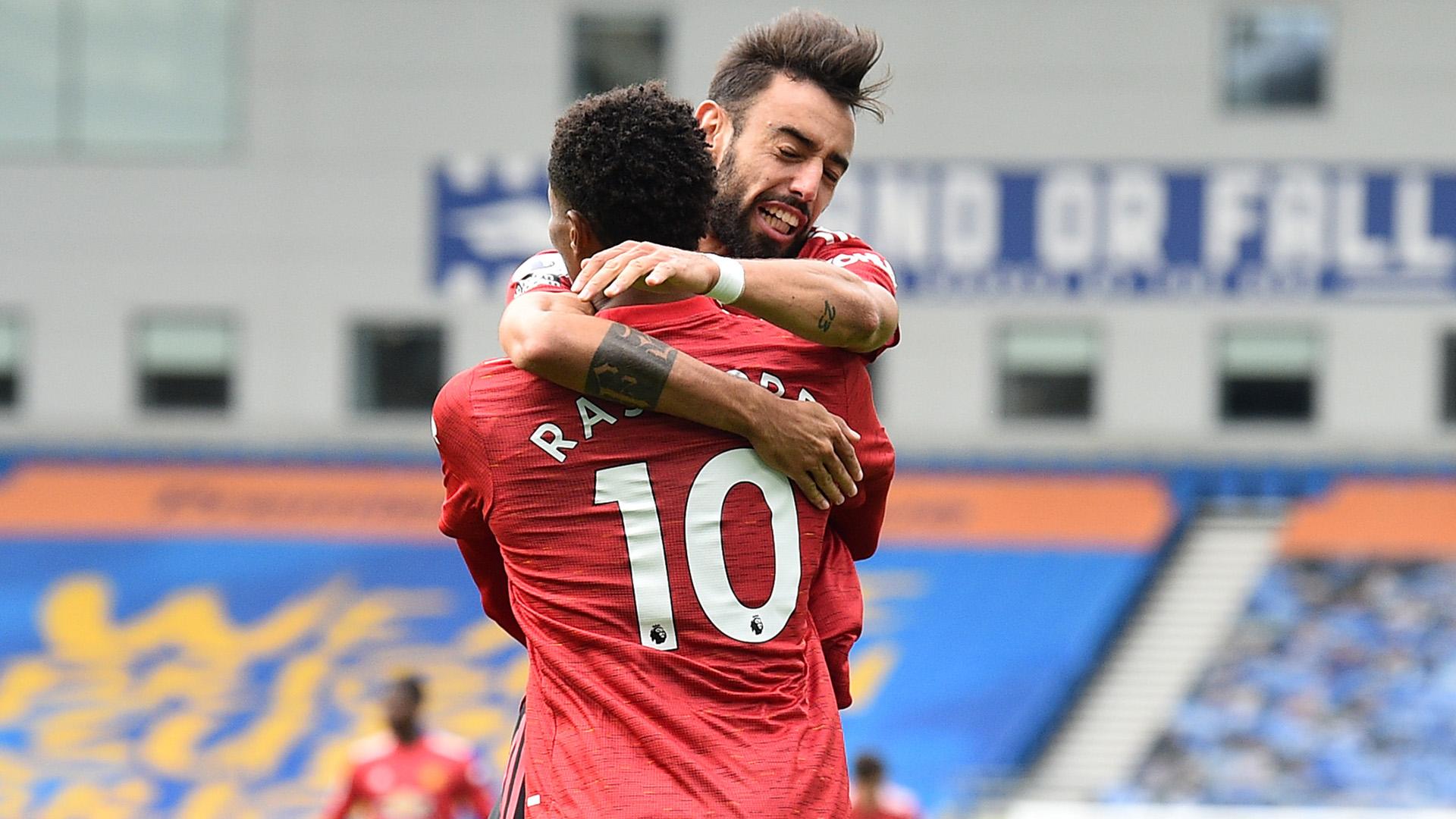 Brighton - Manchester United (2-3), les Red Devils arrachent une victoire au bout du suspense