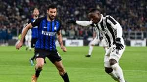Antonio Candreva Kwadwo Asamoah Juventus Inter