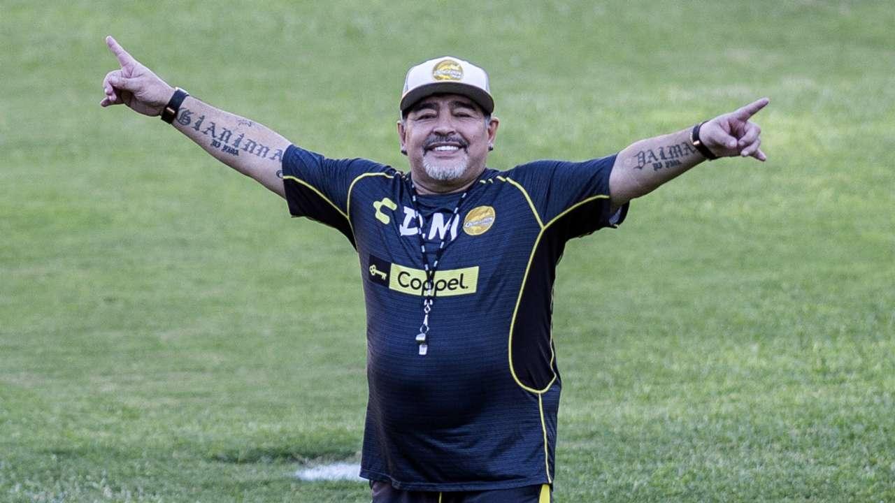 Diego Maradona Dorados 110918