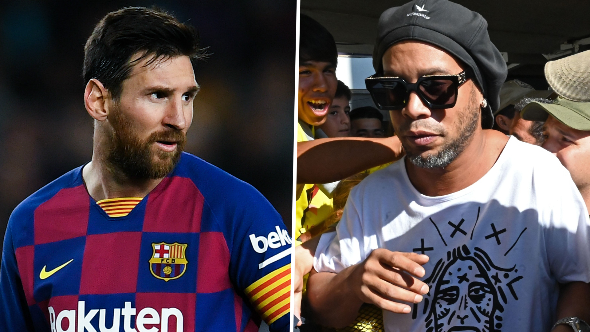 'Touched by God' Ronaldinho is better than Messi - Cardetti
