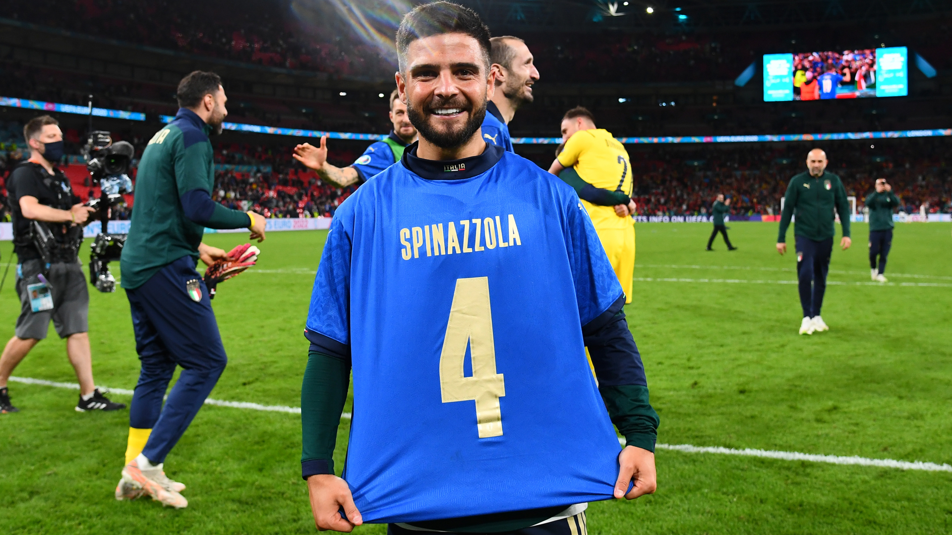 Italy star Chiesa dedicates Man of the Match award to injured Spinazzola after triumph over Spain