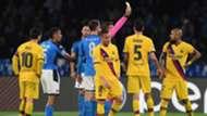 Vidal red card - Napoli Barcelona