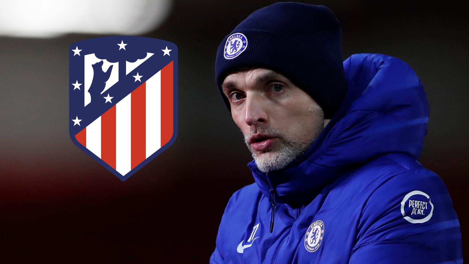 Tuchel admits Chelsea have Champions League edge after Atletico Madrid lose home advantage