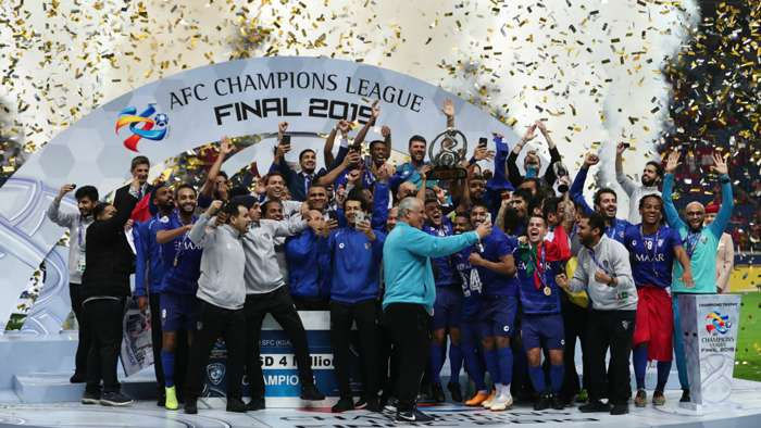 Reigning champions Al Hilal kicked out of AFC Champions League after naming line-up with NINE players due to Covid-19 (2020)