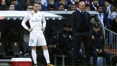 Gareth Bale, Zinedine Zidane, Real Madrid