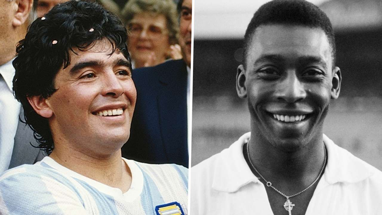 Diego Maradona Pele