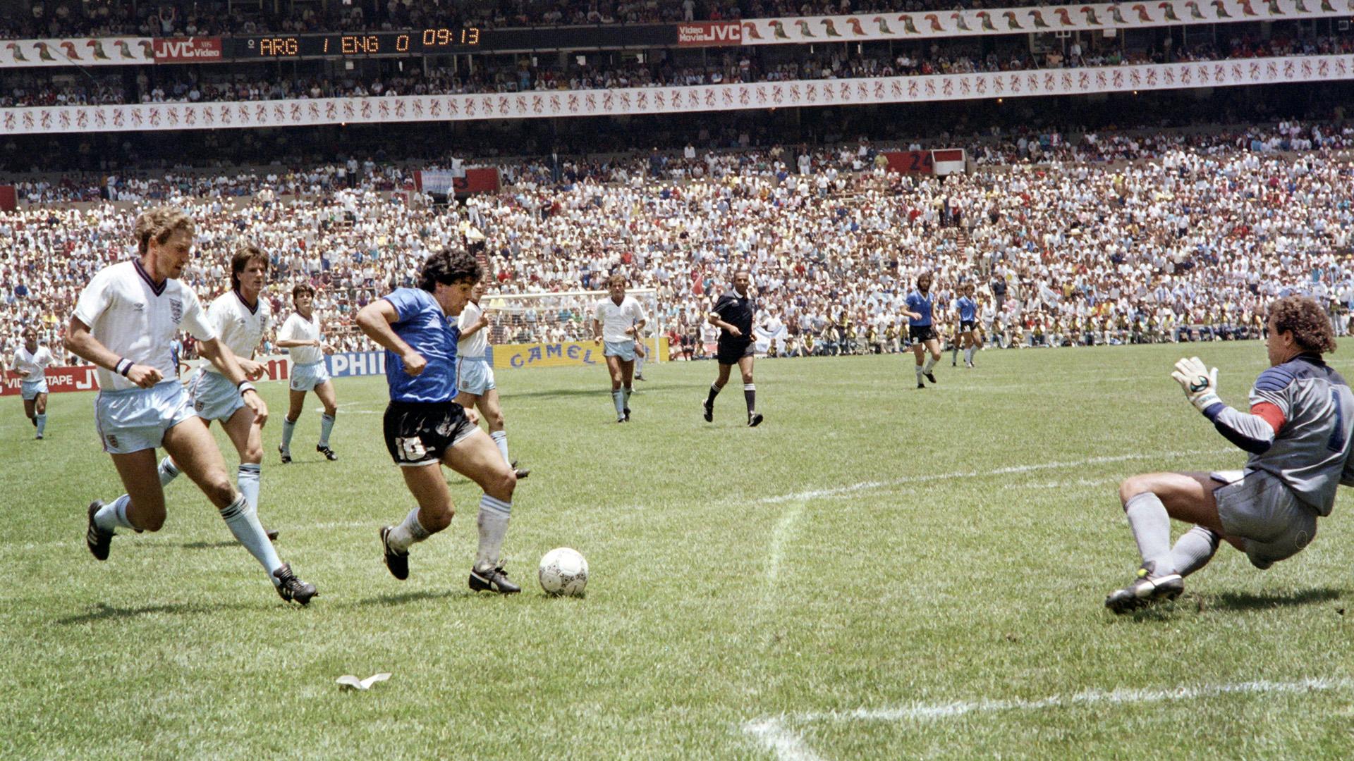 England Argentina World Cup 1986