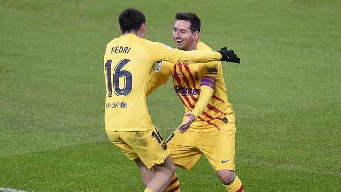 Pedri, Lionel Messi, Barcelona, La Liga 2020-21