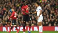 Paul Pogba Marquinhos Manchester United PSG Champions League 12022018