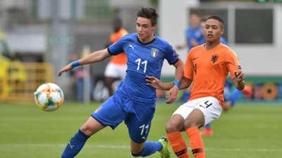 Nicolò Cudrig Italy U17