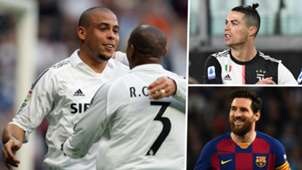 Ronaldo Roberto Carlos Cristiano Lionel Messi Real Madrid Juventus Barcelona GFX