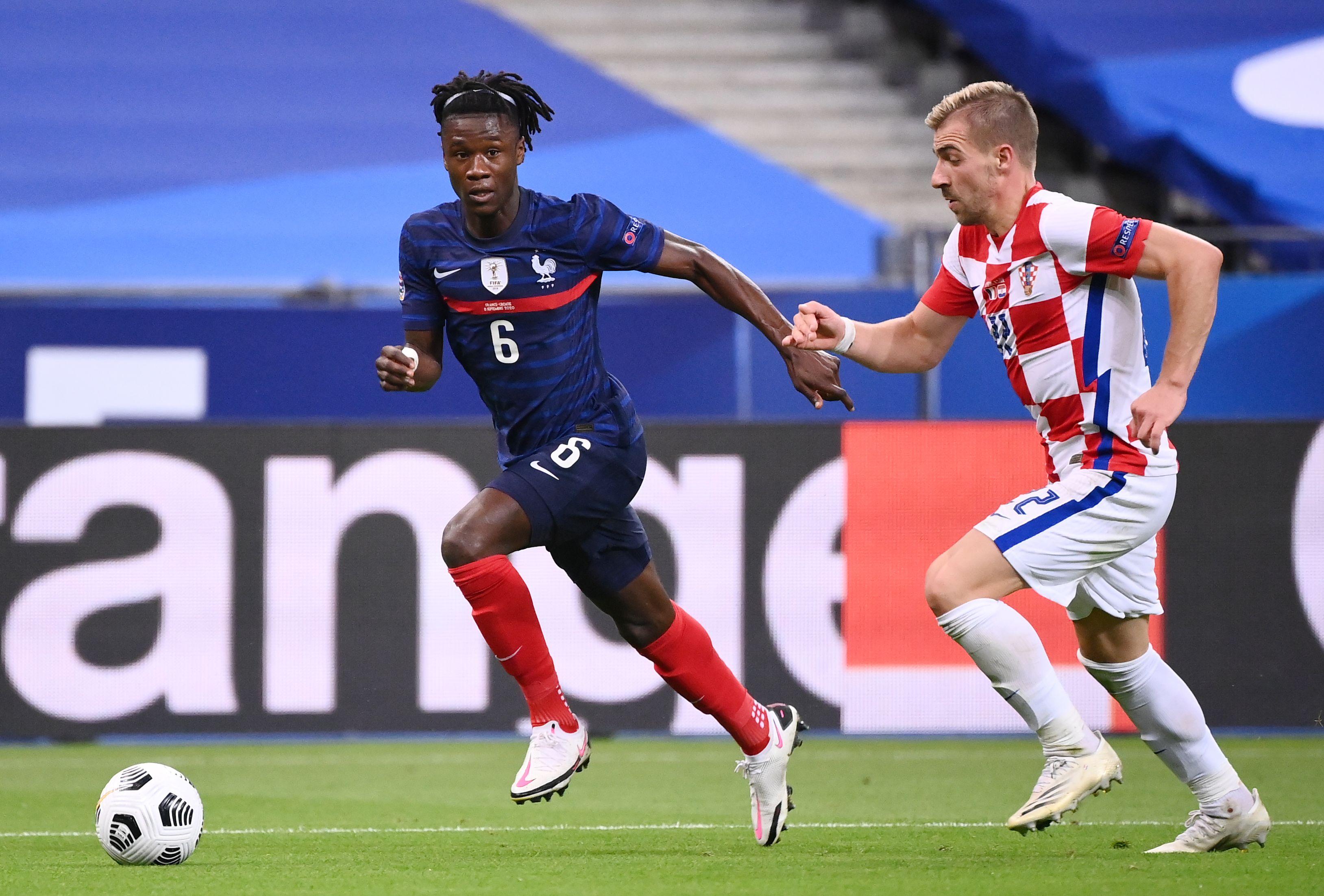 Eduardo Camavinga plus jeune international français depuis 1945 - Foot - Bleus