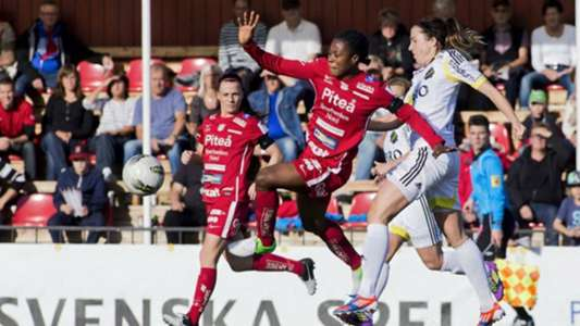 Faith Micheal rescues Pitea from Djurgardens defeat with first Damallsvenskan goal