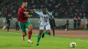 Manuel da Costa and El Fardou Ben Mohamed - Morocco vs Comoros