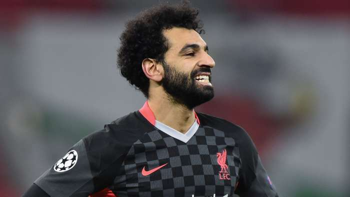 Mohamed Salah, Liverpool away, Champions League 2020-21