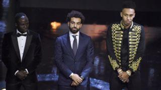 Sadio Mane, Mohamed Salah & Pierre-Emerick Aubameyang