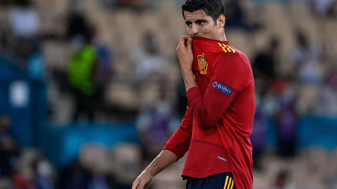 Morata Spain Euro 2021