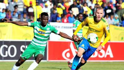 Vusi Shikweni, Bloemfontein Celtic & Jeremy Brcokie, Mamelodi Sundowns, May 2018