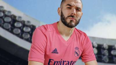 Karim Benzema Real Madrid away kit 2020-21