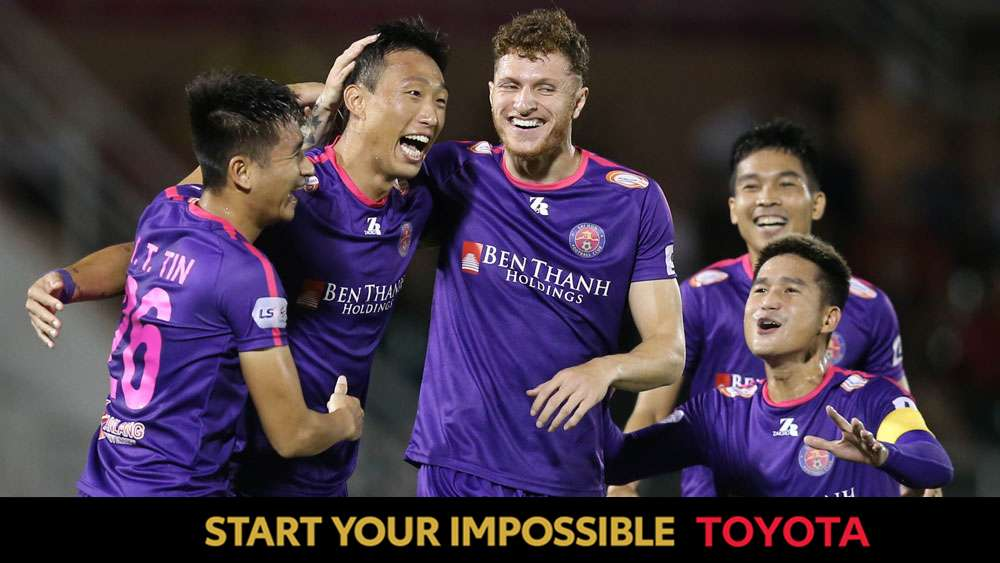 TOYOTA ONLY | Sai Gon FC at the 2020 V.League - Geovane