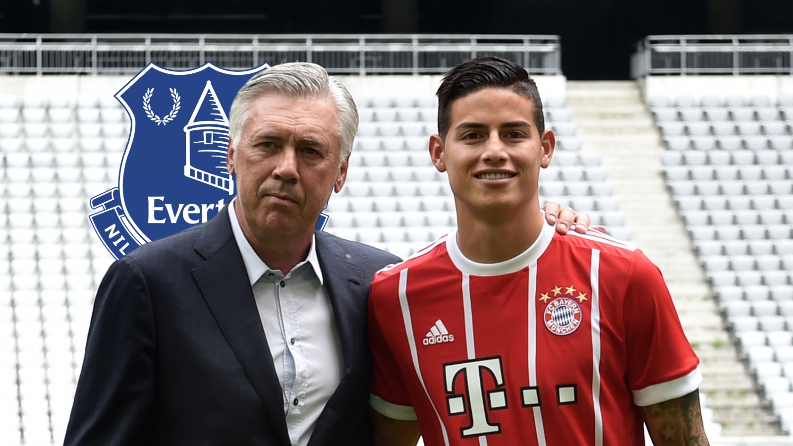 Can Ancelotti Get The Best Once Again From Spectacular James Rodriguez At Everton Goal Com
