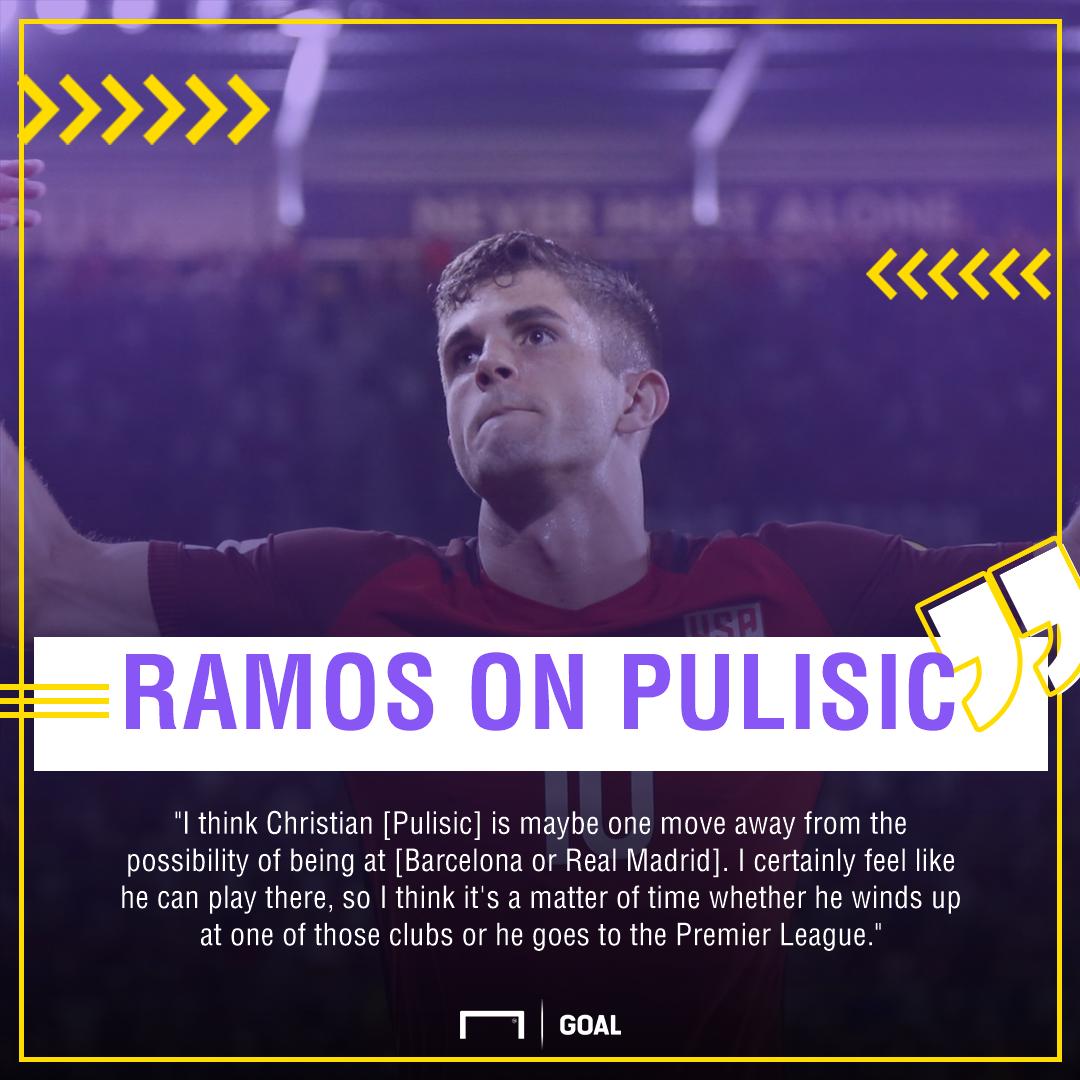 Ramos Pulisic quote