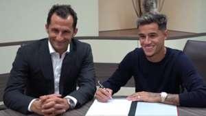 Philippe Coutinho Hassan Brazzo Salihamidzic FC Bayern München signing