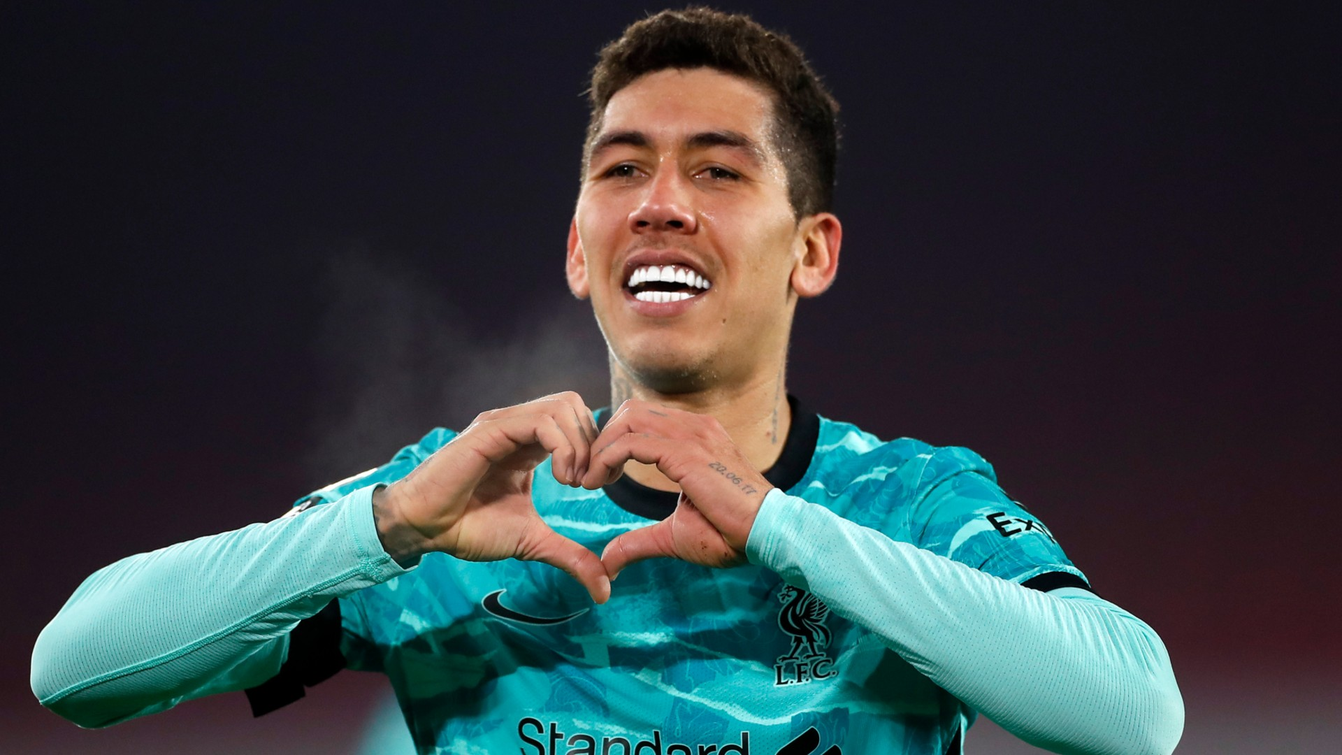 Firmino has returned to training with Liverpool after suffering a knee injury
