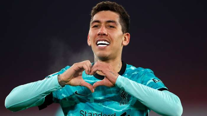 Roberto Firmino Liverpool 2020-21