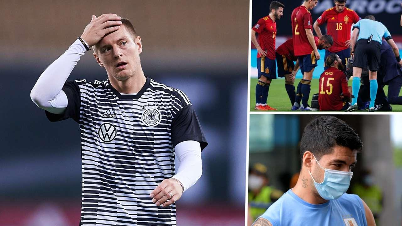 Toni Kroos Germany Sergio Ramos Spain Luis Suarez Uruguay GFX