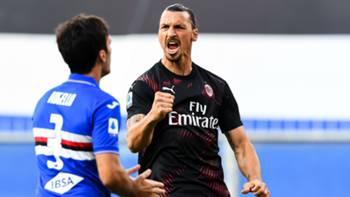 Ibrahimovic Sampdoria Milan Serie A