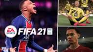 FIFA 21 Kylian Mbappe Erling Haaland Trent Alexander-Arnold