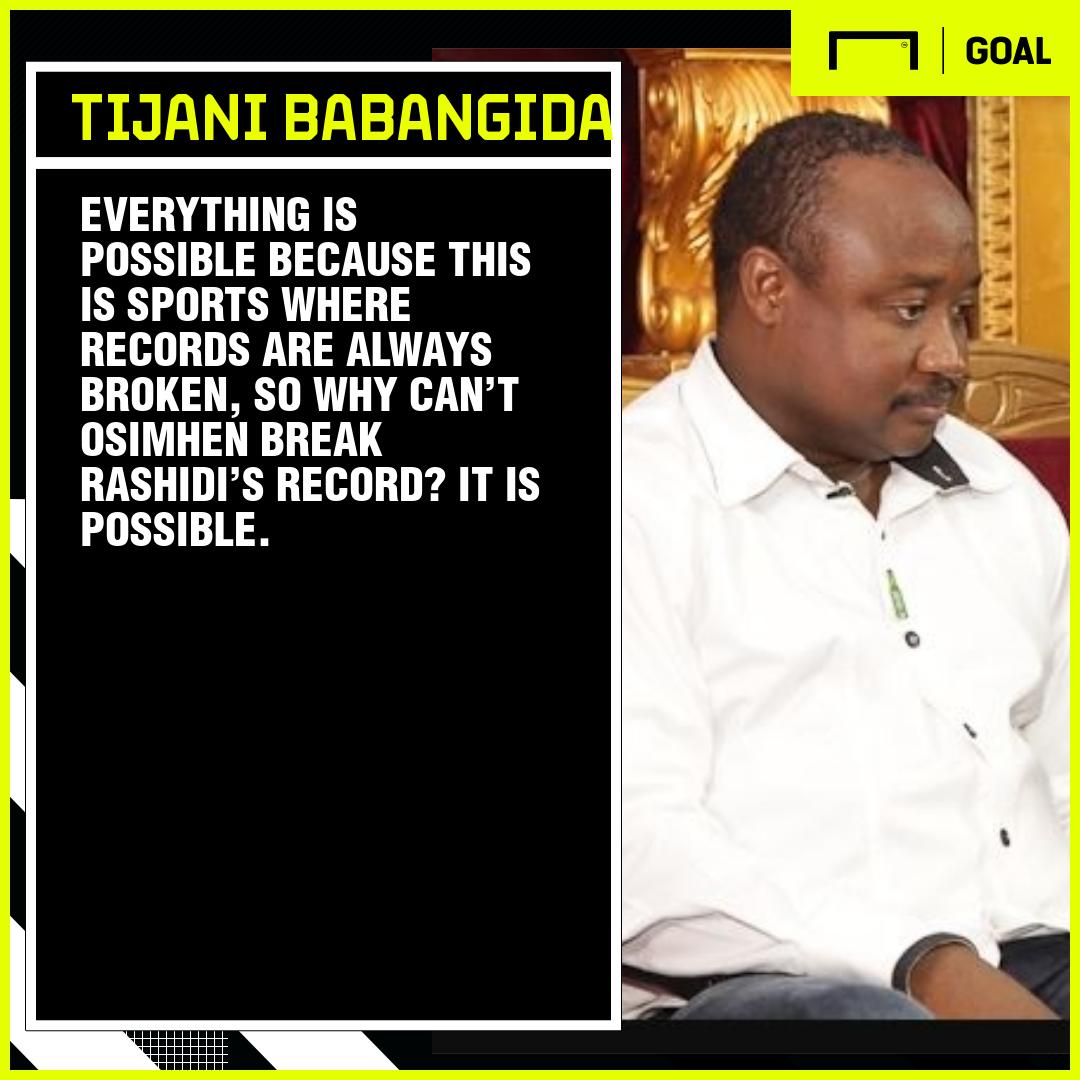 Osimhen must do more to break Yekini's Nigeria record – Babangida