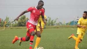 Benson Omala of Harambee Stars and Kenya.