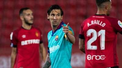 Lionel Messi Mallorca Barcelona La Liga