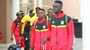 Uganda Cranes jets in to face Kenya.