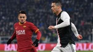 Cristiano Ronaldo Cengiz Under Juventus Roma Coppa Italia