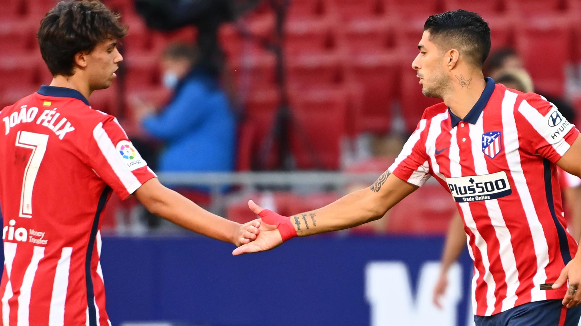 La pareja Félix & Suárez ha anotado 10 goles en Liga