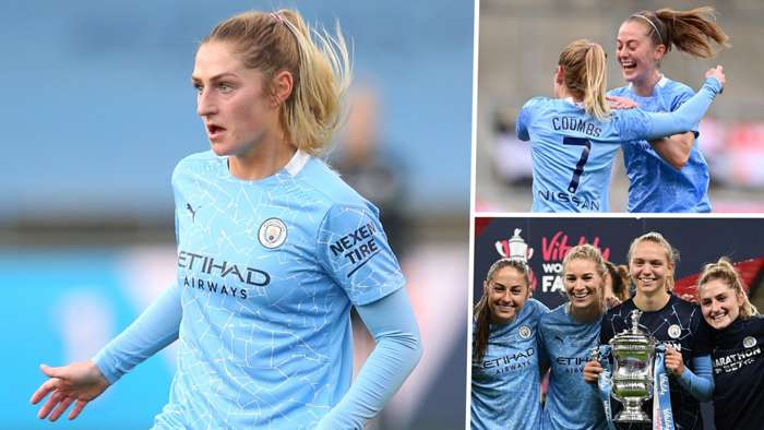 Laura Coombs Manchester City Women 2020 composite