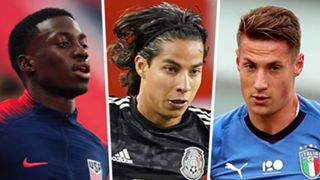 Timothy Weah Diego Lainez Andrea Pinamonti