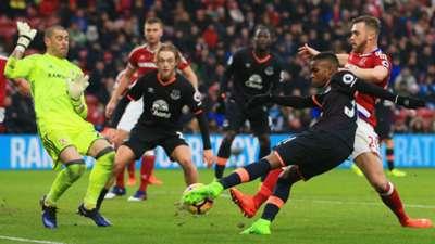 Ademola Lookman Everton Premier League 11022017