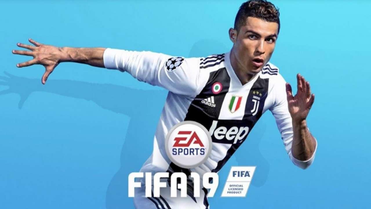 FIFA 19 Cover Cristiano Ronaldo