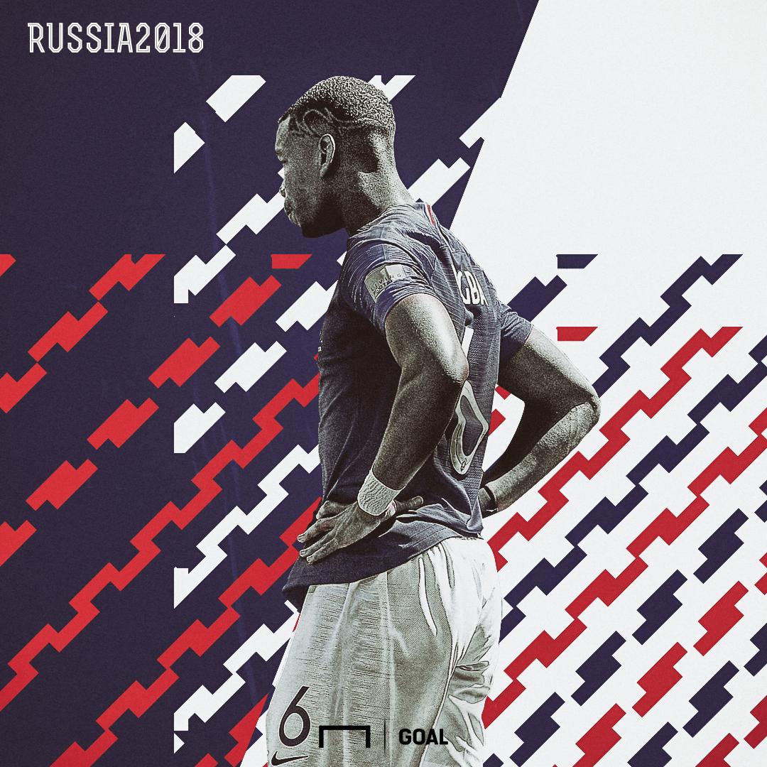 Paul Pogba France Australia World Cup 2018