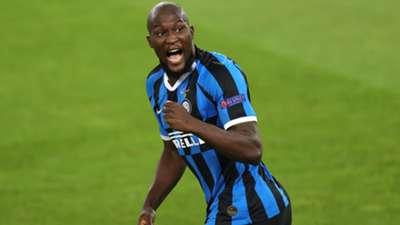 Romelu Lukaku Inter Europa League final