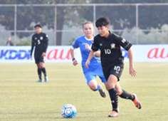 ไทย-อุซเบกิสถาน   ฟุตบอลหญิง U-19